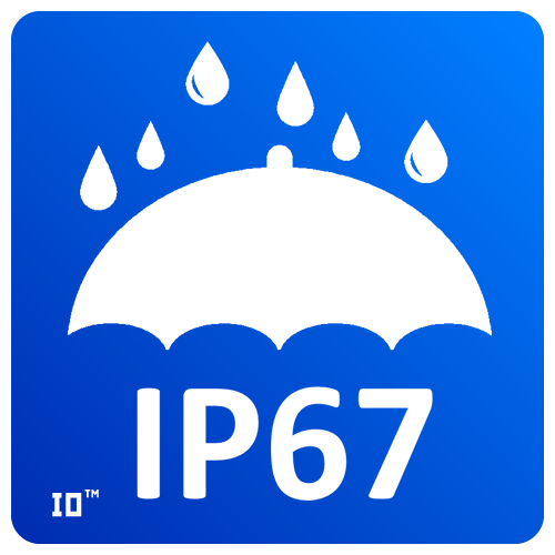 IP67 (Ingress Protection rating) – степень защиты светодиодного светильника. Светильник защищен от попадания пыли и влаги внутрь. IP67 (Ingress Protection rating) – the degree of protection of the led lamp. The lamp is protected from dust and moisture inside. IP67 (Ingress Protection rating) - Schutzart der LED-Lampe. Die Leuchte ist vor Staub und Feuchtigkeit geschützt.